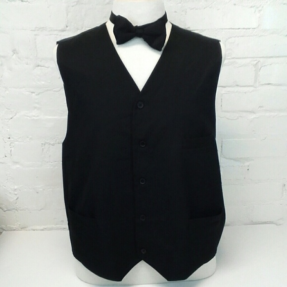 Umo Lorenzo Other - Umo Lorenzo Formalwear Vest and Bow Tie